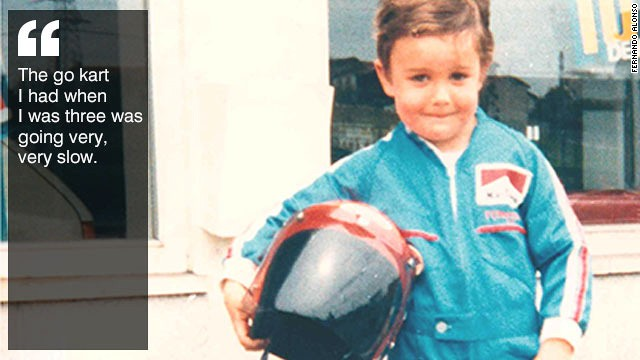 ec3018b3fc Fernando Alonso  The family ties that bind Ferrari s F1 star - CNN.com
