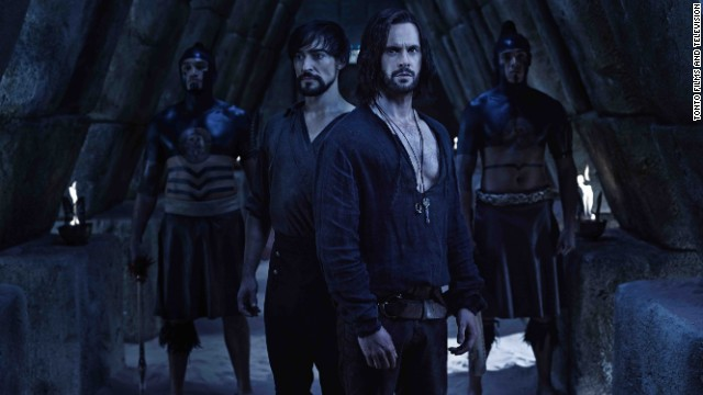 It's Leonardo da Vinci (Tom Riley) as you've never seen him. This fictional look at his early life is uniquely dark and fantastical. Season two just wrapped on Starz.