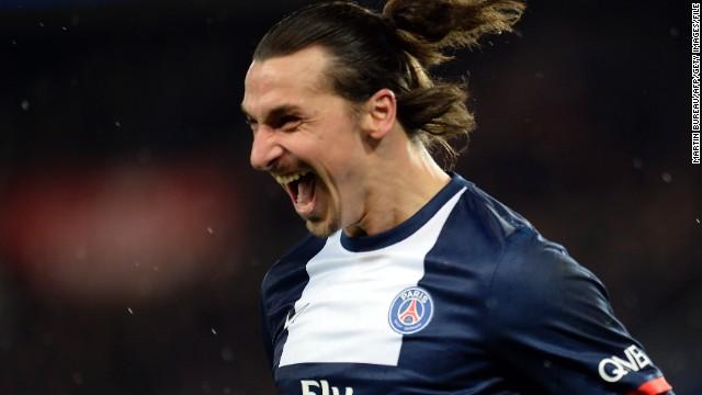 Zlatan Ibrahimovic -- Paris Saint-Germain/Sweden.