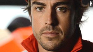 What drives F1 star Alonso?