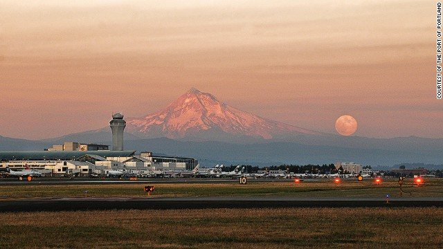 Travel+Leisure's 2013 list of best and worst airports in the United States rated Portland International Airport (pictured) in Oregon as the nation's best. Click through the gallery for a sampling of the beautiful and the damned.