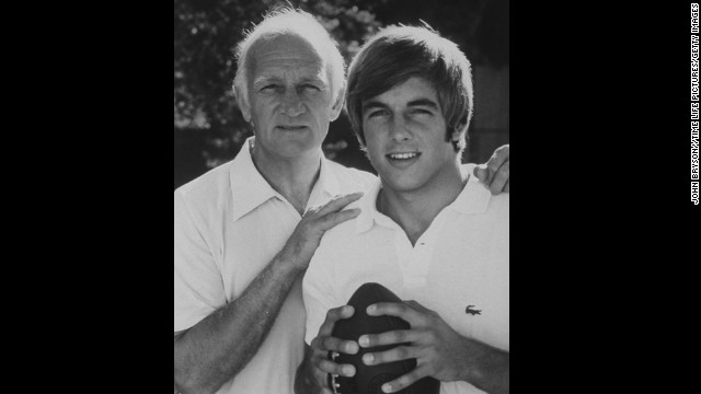"Mark Harmon (right, with his father, Tom, in the 1970s) was a highly touted quarterback at UCLA in the early '70s. (Tom Harmon was no slouch; he won the Heisman Trophy in 1940.) But instead of pursuing an athletic career, he followed the path of his mother, actress Elyse Knox. Mark Harmon's resume includes stints on ""St. Elsewhere,"" ""Chicago Hope"" and the top-rated ""NCIS."""