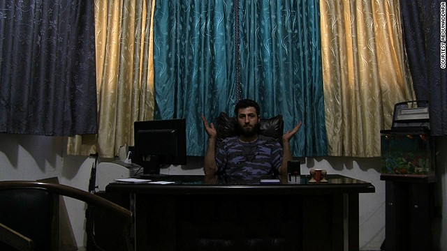 "In the three-minute short, ""The Islamic State for Dummies"", an unnamed man in an unmarked office describes how the religion has evolved in 1,600 years. Film collective Abounaddara showcase subjects with a range of belief systems and religious backgrounds."