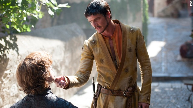 <strong>Oberyn Martell (Pedro Pascal): </strong>Arriving at King's Landing for the first time, Martell is from Dorne, in the southern reaches of the Seven Kingdoms, where passions run hot and slights are not forgotten. Weigh that against the fact that his sister was killed by Lannister soldiers and you have a recipe for trouble.