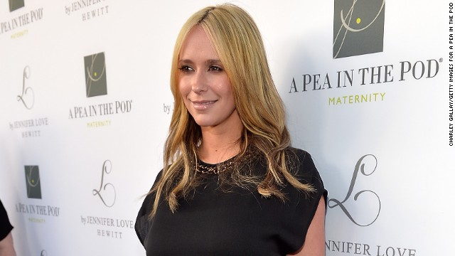 Jennifer Love Hewitt last appeared on Lifetime's series
