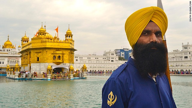 The Golden Temple in Amritsar is considered the holiest of all sites for Sikhs.