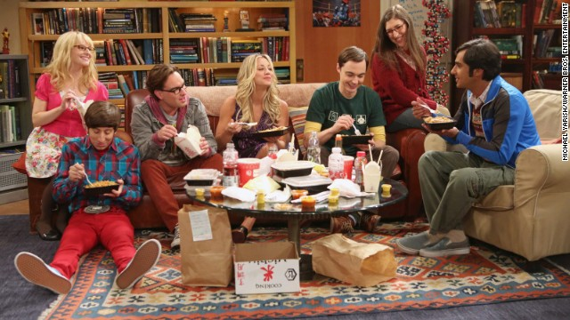 "The set of the hit comedy ""Big Bang Theory"" is one of the most famous currently on TV and surrounded by symbols of nerddom. Members of the cast and crew shared their favorite parts of the set with CNN. Click through for a closer look."
