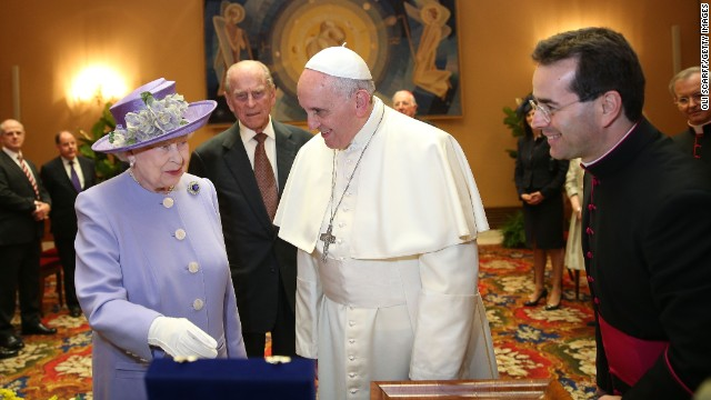 Popes and the Queen