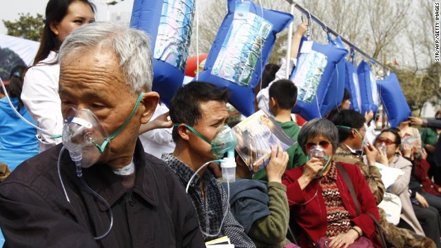 China: aire fresco contra la contaminación