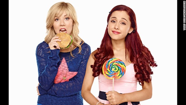 Jennette McCurdy and Ariana Grande star in