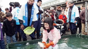 Held each February, Shimonoseki\'s Fugu Festival is a celebration of all things related to the revered delicacy.