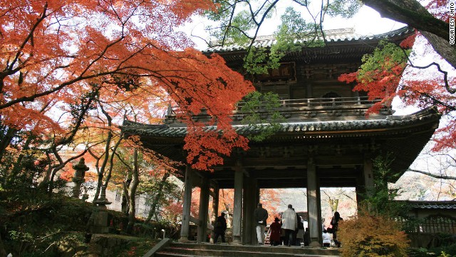 Completed in 1320, Shimonoseki's Kozanji Temple has been designated a National Treasure of Japan.