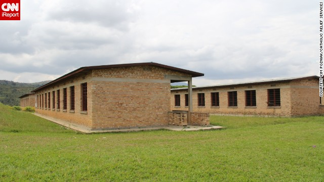 The Murambi Genocide Memorial in southern Rwanda includes graphic displays of the brutality of the genocide. People were killed after seeking refuge at this school under construction. At the memorial, victims bodies have been preserved to reflect the manner of their deaths.