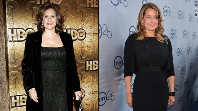 "Lorraine Bracco of ""The Sopranos"" has lost 35 pounds since the HBO drama's end in 2007. She said it was the death of her parents three years ago that inspired her to make a change. Before their death, she remembers ""sitting there, dividing these medications, who gets what when,"" <a href='http://abcnews.go.com/Entertainment/caring-parents-inspired-lorraine-bracco-lose-35-pounds/story?id=23144865' target='_blank'>she told ABC News</a>. ""It was insane. I watched and realized, 'I don't want to go like that.' ... I want to live every day the best I can be."""