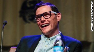 Actor Burn Gorman, speaking at DragonCon 2013 in Atlanta, plays Karl on \
