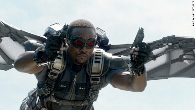 'Captain America's' Anthony Mackie talks superhero status