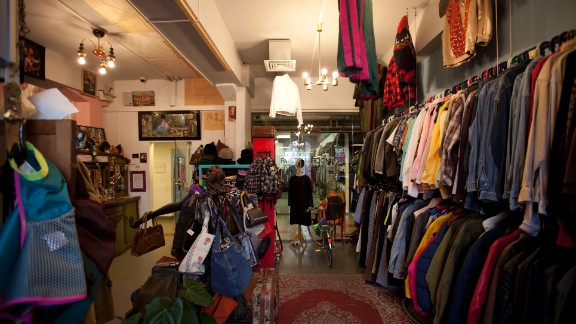 Off, run by two extravagent shopkeepers, is the place to go to buy or hire classy vintage gear.