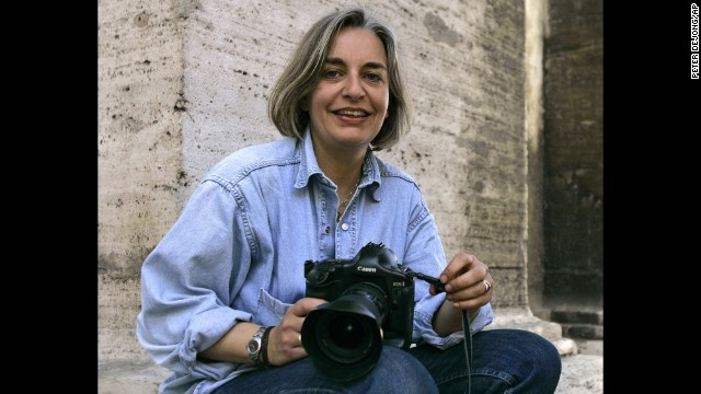 Associated Press photographer Anja Niedringhaus, an internationally acclaimed, Pulitzer Prize-winning German photographer, was fatally shot in Afghanistan, the AP said Friday, April 4. She was 48. Click through the gallery to see some of her photos from over the years.