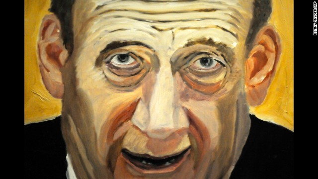 A portrait of former Israeli Prime Minister Ehud Olmert is also part of the exhibit. Bush, who started painting lessons after he left the White House in 2009, said he hopes the leaders <a href='http://politicalticker.blogs.cnn.com/2014/04/03/george-w-bush-to-unveil-paintings/'>he chose to depict</a> will take it in the right spirit.