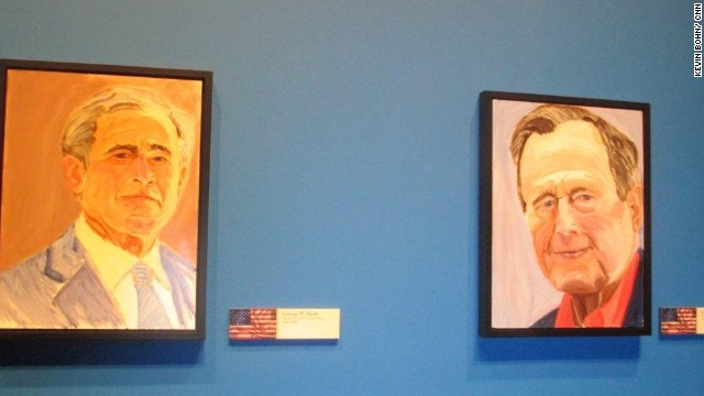 George W. Bush to unveil paintings