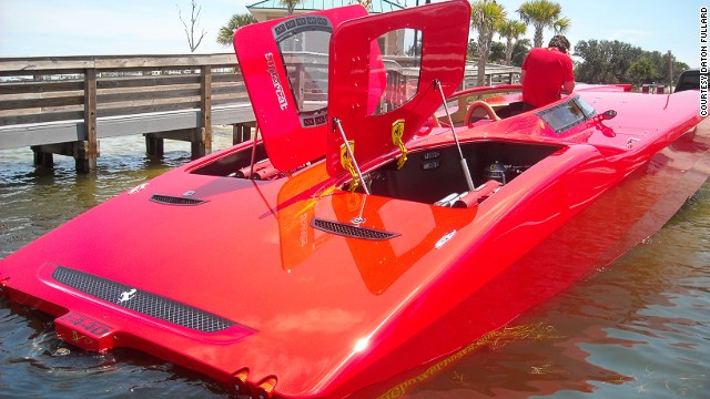 "The company also made this Ferrari-inspired yacht and a Corvette-style boat for other wealthy clients. ""The people that own these boats, already own the vehicles,"" says Larry Goldman, owner of<a href='http://www.xtremepowerboats.com/' target='_blank'> Xtremepowerboats</a>, which deals the pimped-up yachts. ""Nobody wants a boat to resemble a car that they can't afford."""