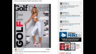 Model Paulina Gretzky isn't a pro golfer but she's made it onto the cover of the latest issue of Golf Digest.