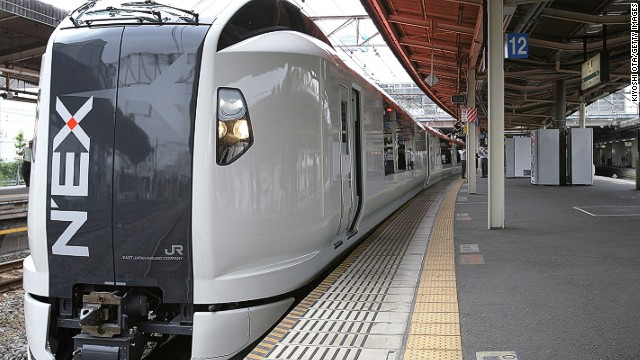 If you're flying into Narita, take the N'EX (Narita Express) into Tokyo -- it's more comfortable than alternative trains, with nicer seats and more luggage space, with no transfers.
