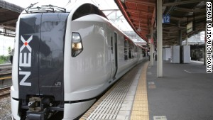 Check your Hyperdia app for the next N\'EX train from Narita.