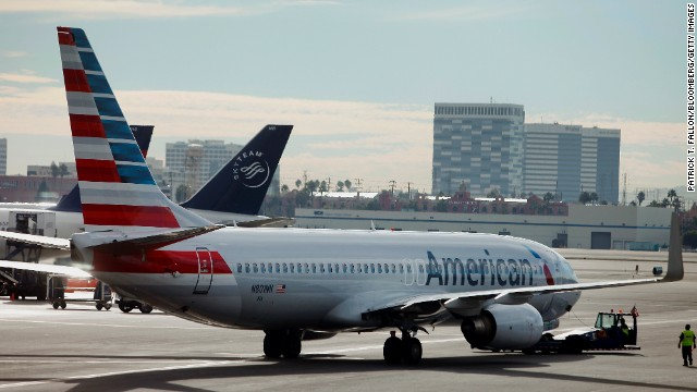American Airlines ranks ninth.