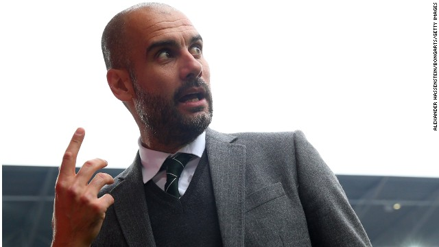 Bayern Munich coach Josep Guardiola has his sights set on the Champions League clash with Manchester United.