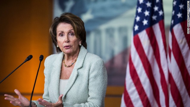 Pelosi changes position on border bill
