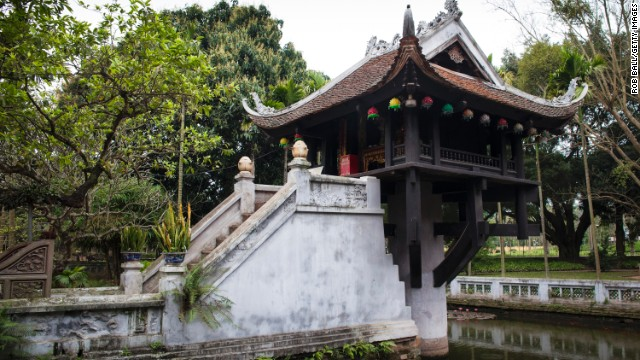A newcomer to the top 25, Hanoi is ranked at No. 8.