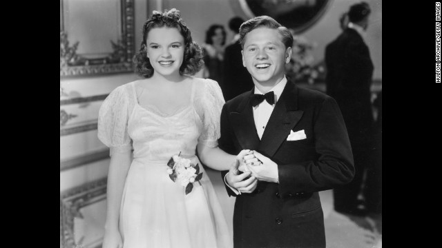 "... Garland in a 1940 still from the film ""Andy Hardy Meets Debutante"