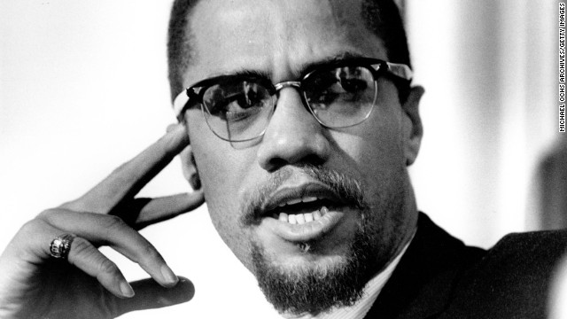 Nation Of Islam leader and civil rights activist Malcolm X poses for a portrait in 1965. Malcolm was a symbol of black defiance who ridiculed King's stance on nonviolence.