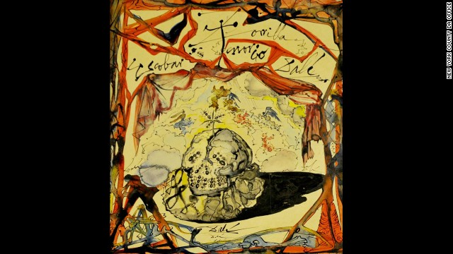 "Eight months after Salvador Dali's ""Cartel de Don Juan Tenorio"" was stolen in a New York gallery, a Greek national was indicted on a grand larceny charge in 2013."