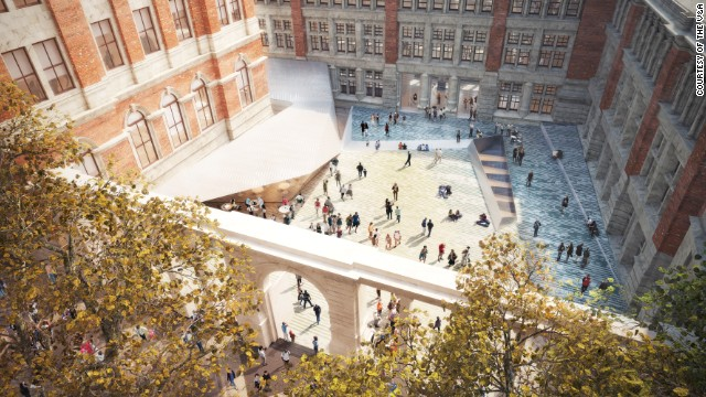London's Victoria & Albert Museum is developing its Exhibition Road Building Project. The museum has already raised more than £36 million for the development, which will include a major suite of galleries devoted to refurbished historic courts.