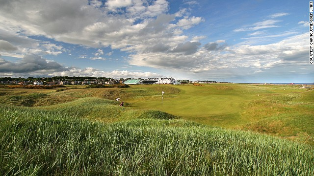 "Carnoustie is where Ben Hogan won the only Open Championship he ever played in. The par-five sixth hole ""Hogan's Alley"" was named after him because of the tight driving line he took in all four rounds on it."