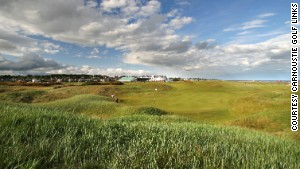 Carnoustie is where the great Ben Hogan won the only Open Championship he ever played in and had the par-5 sixth hole named after him, 'Hogan's Alley', because of the tight driving line Hogan took at this hole in all four rounds.