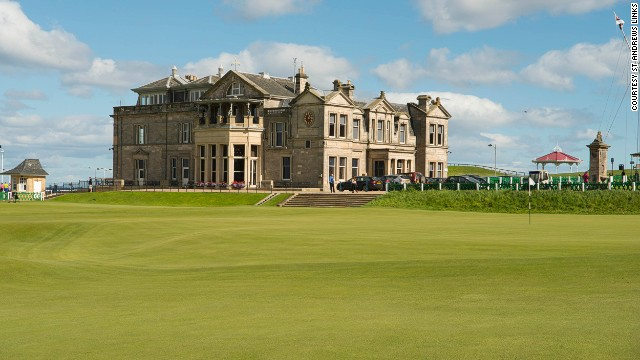 The Home of Golf and probably the most famous course in the world, the Old Course at St Andrews Links' has hosted 28 Open Championships with another one due in 2015. <a href='http://edition.cnn.com/2014/03/26/sport/golf/golf-ra-st-andrews/'>This year it might even allow women to join its ranks.</a>