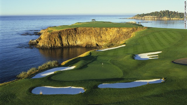 """If I had only one more round to play, I would choose to play it at Pebble Beach,"" said Jack Nicklaus. The iconic course overlooking the Pacific Ocean is one every golfer should hit."