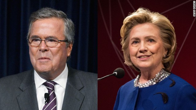Bush vs. Clinton déjà vu