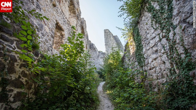 "Step inside the ruins of the burg <a href='http://ireport.cnn.com/docs/DOC-1056106'>Stari Grad</a>, which overlook the town of Samobor in Croatia. Built in the 13th Century and abandoned in the 19th Century, the burg was once owned by prominent families such as the Babonics. ""It was a nice scene. Great place for spending time with your friends far away from the city,"" Ivan Klindic said."