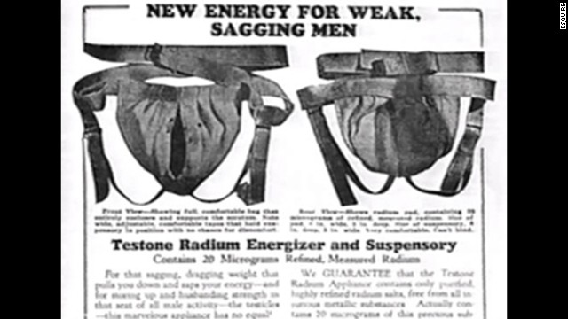 The Testone Radium energizer
