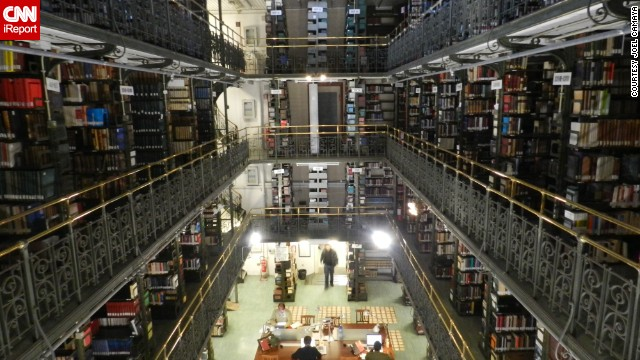 Living in Rome, <a href='http://ireport.cnn.com/docs/DOC-1117110'>Camaya</a> goes to the Pontifical Biblical Institute in Rome every day to study. He recommends its library to anyone interested in learning about the history or scientific study of the Bible.