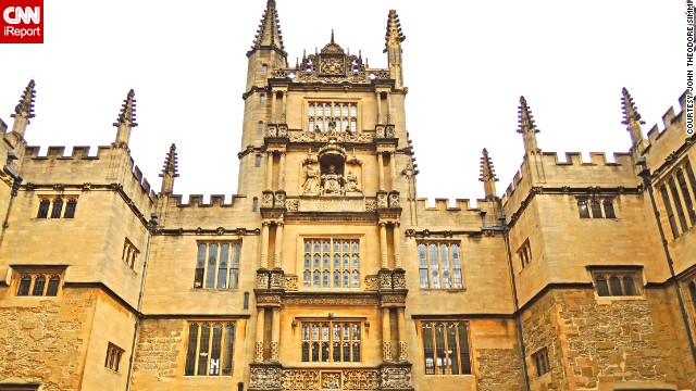 The <a href='http://www.bodleian.ox.ac.uk/bodley' target='_blank'>Bodleian Library</a> is <a href='http://ireport.cnn.com/docs/DOC-1117622'>Oxford University's main research library</a>, and one of the six Legal Deposit libraries. Legal Deposit, part of English law since 1662, ensures that everything published in the nation is collected and retained in libraries as part of the national public archive.