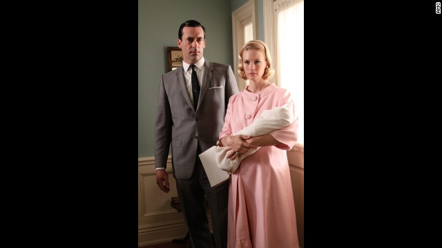 The maternity ensemble Betty wears in the third season represents a social norm about privacy that eroded as the 1960s came to a close. The concealing nature of her outfit maintained the idea that a woman's body and personal life were only to be clear to intimate relations, Przybyszewski said.