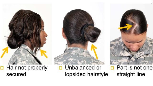 Pentagon vows to untwist black hairstyle controversy