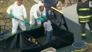 NS Slug: CO: SCHOOL HAZMAT SITUATION - AERIALS\nSynopsis: Mysterious toxin forces Colorado School To Evacuate