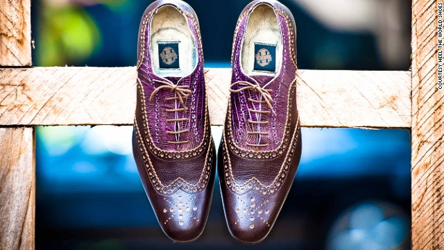 Former banker Fred Deegbe is on a mission to prove that quality shoes can be made in Ghana.