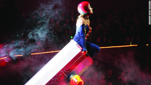 Meet Robin Valencia, one of a family of human cannonballs.